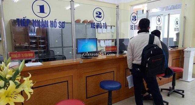 Dia chi cac diem dang ky xe o to tai ha noi 1a - Thời gian làm việc và Địa chỉ các điểm đăng ký ô tô tại Hà Nội