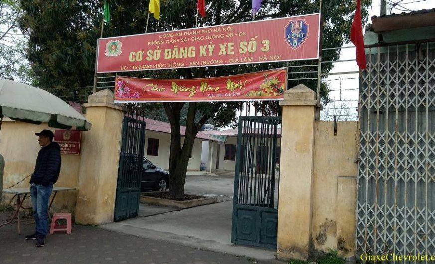 Diem dang ky xe so 3 116 dang phuc thong gia lam 873x531 - Thời gian làm việc và Địa chỉ các điểm đăng ký ô tô tại Hà Nội