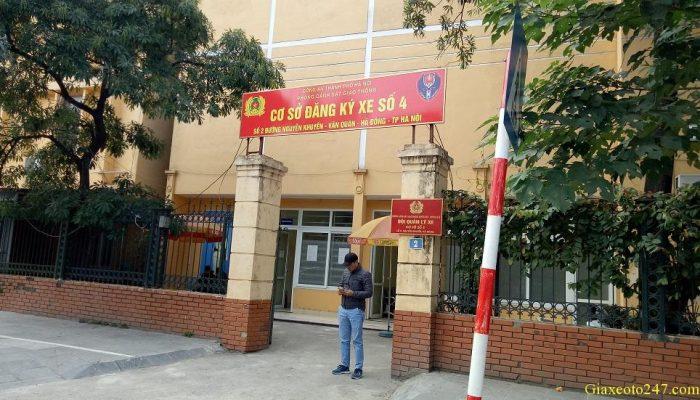 Diem dang ky xe so 4 2 nguyen khuyen ha dong 700x400 - Thời gian làm việc và Địa chỉ các điểm đăng ký ô tô tại Hà Nội