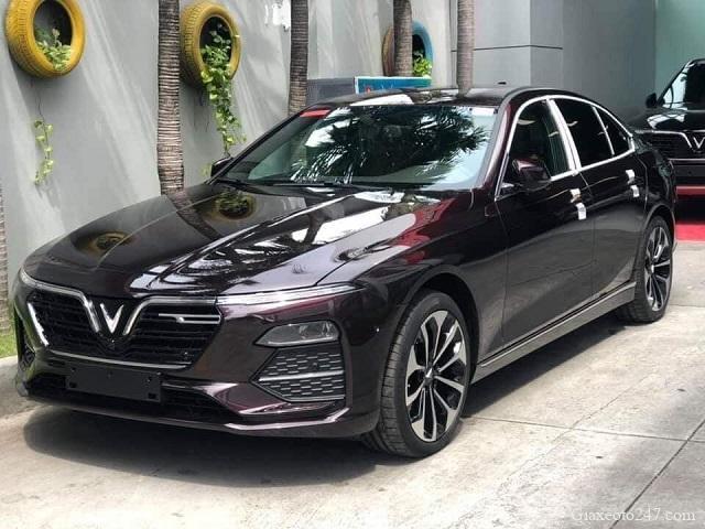 VinFast LuxA mau Nau - Phong thủy xe hơi - Chọn màu hợp mệnh