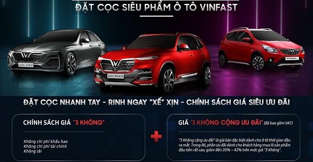 dat coc xe vinfast nhan ngay uu dai Copy - Thủ tục đăng ký, đăng kiểm xe ô tô