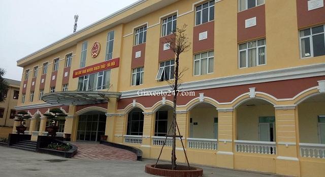 Chi cục Thuế huyện Thạch Thất TP Hà Nội 1 - Địa chỉ nộp thuế trước bạ ô tô, xe máy, nhà đất tại Hà Nội