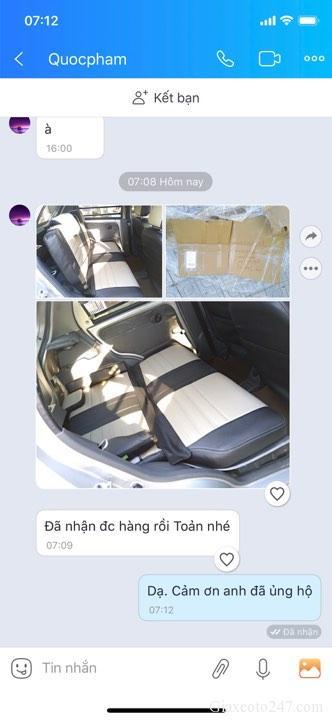 Giao ghe spark van 7 19 2 - Lắp độ hàng ghế sau xe Spark Van, Morning Van - giao hàng Toàn Quốc