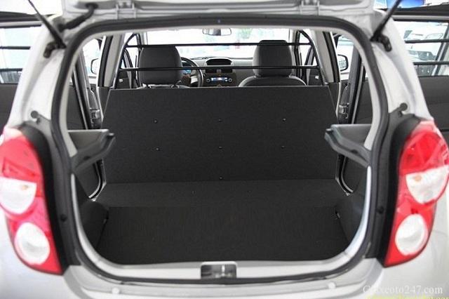 khoang sau chevrolet spark van - Lắp độ hàng ghế sau xe Spark Van, Morning Van - giao hàng Toàn Quốc