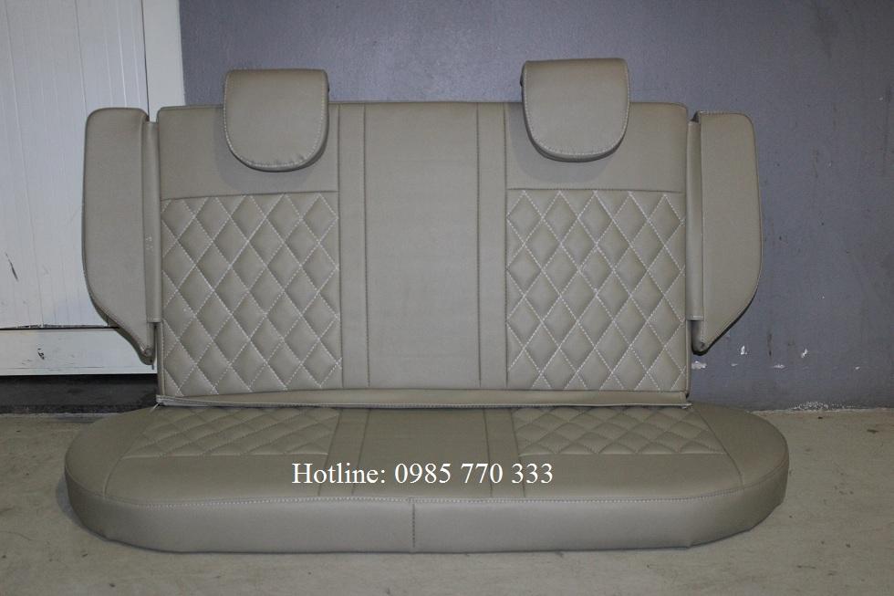 Do hang ghe sau xe spark van mau sang b - Lắp độ hàng ghế sau xe Spark Van, Morning Van - giao hàng Toàn Quốc