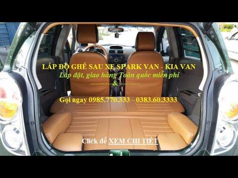 Do ghe sau xe Spark Van Morning Van gia bao nhieu - Địa chỉ nộp thuế trước bạ ô tô, xe máy, nhà đất tại Hà Nội