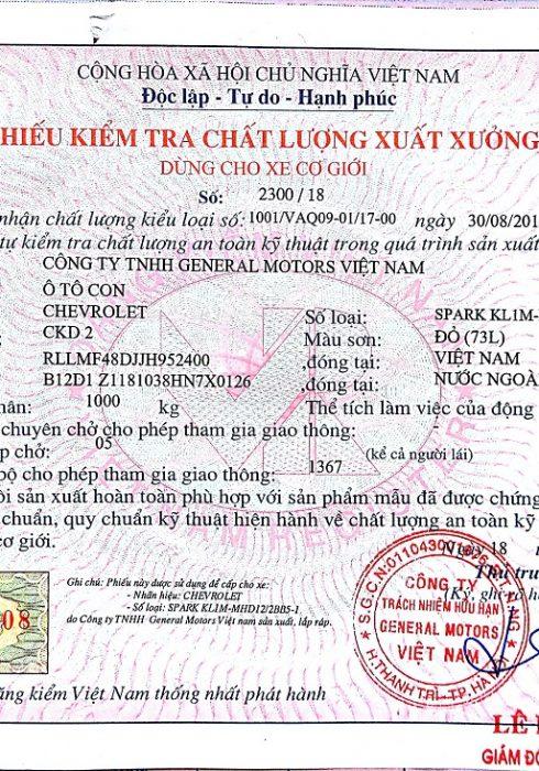 Phieu xuat xuong xe trong nuoc 490x700 - Thủ tục đăng ký, đăng kiểm xe ô tô