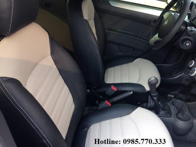 Boc da ghe truoc spark van 640x480 - Lắp độ hàng ghế sau xe Spark Van, Morning Van - giao hàng Toàn Quốc