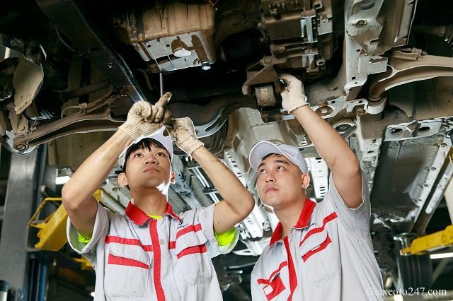 Doi ngu ky thuat vie VinFast Chevrolet Thang Long 2 - VinFast Chevrolet Thăng Long - 68 Trịnh Văn Bô