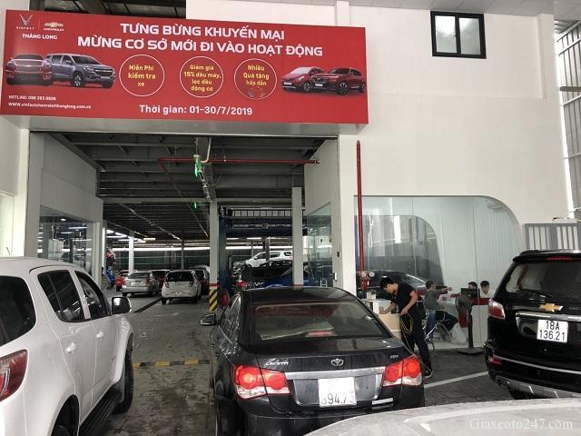 Loi vao xuong dich vu VinFast Chevrolet Thang Long - VinFast Chevrolet Thăng Long - 68 Trịnh Văn Bô