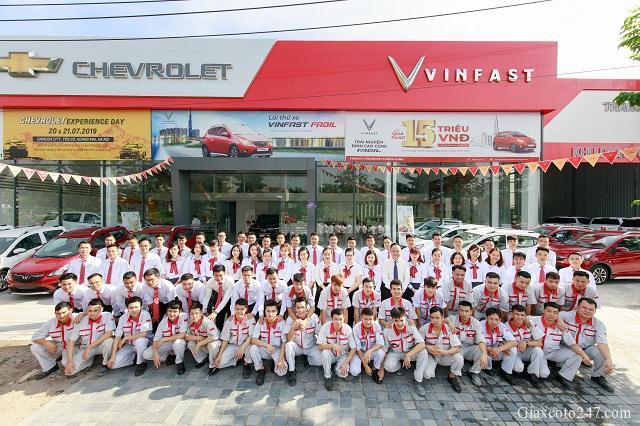 VinFast Chevrolet Thang Long 68 Trinh Van Bo 1 - VinFast Thăng Long tuyển dụng nhân viên kinh doanh làm việc tại Hà Nội