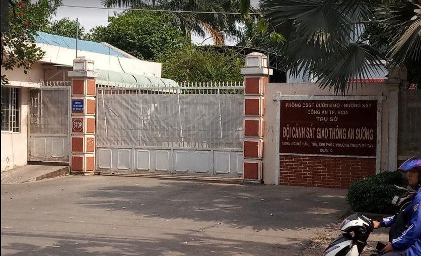 Doi csgt An Suong 836x508 - Thời gian làm việc và địa chỉ các điểm đăng ký ô tô tại TP Hồ Chí Minh