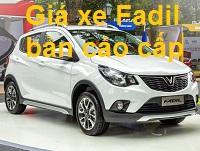 gia xe vinfast fadil ban cao cap 2 - VinFast Fadil bản cao cấp giá bao nhiêu ?