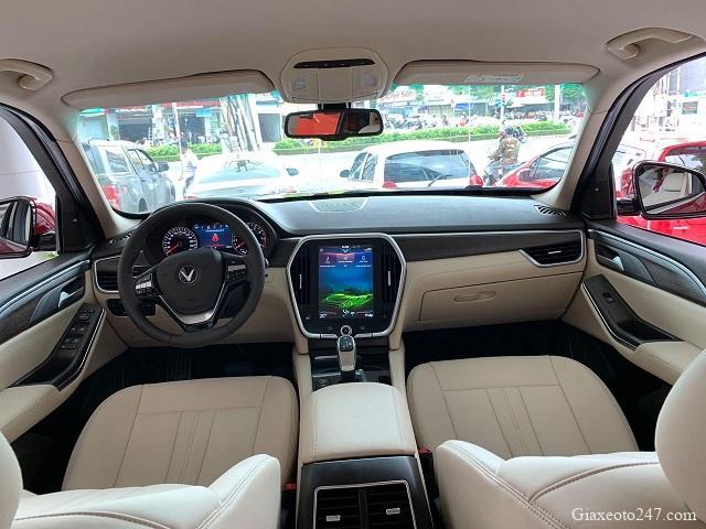VinFast Lux SA Noi that nappa mau Be - Bảng giá, Thông số kỹ thuật xe VinFast LUX SA 2.0