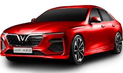 vinfast lux a 2.0 mau do - Giá xe Trang chủ