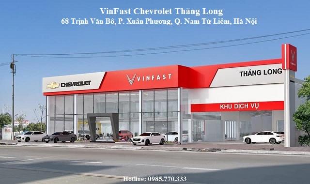 Dai ly Vinfast Chevrolet Thang Long tai pho Trinh Van Bo - Đại lý VinFast Ô tô Mỹ Đình