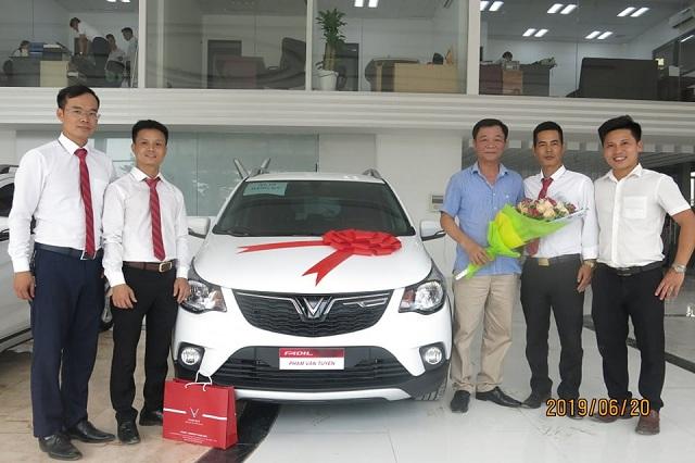 Giao xe VinFast 6 2019 - VinFast Chevrolet Thăng Long - 68 Trịnh Văn Bô