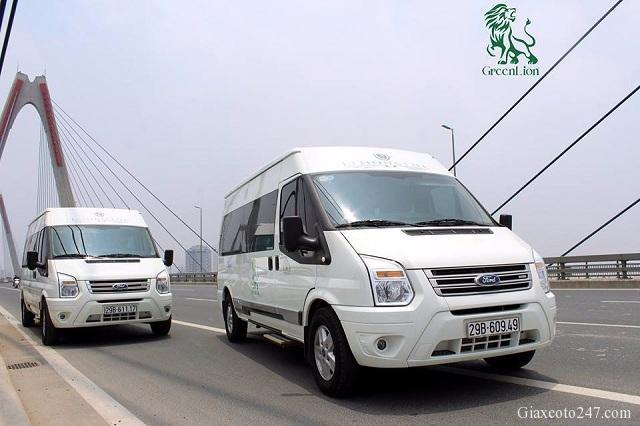 Top nha xe Vip xe Limousine Ha Noi Quang Ninh xe Green Lion bus - Top 15 nhà xe Limousine đưa đón tận nơi Hà Nội - Quảng Ninh chất lượng cao