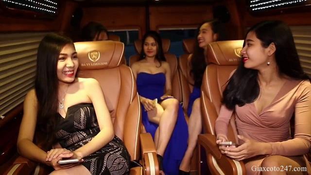 Top nha xe Vip xe Limousine Ha Noi Quang Ninh xe Ha Vy - Top 15 nhà xe Limousine đưa đón tận nơi Hà Nội - Quảng Ninh chất lượng cao