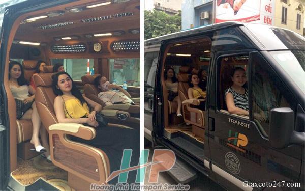 Top nha xe Vip xe Limousine Ha Noi Quang Ninh xe Hoang Phu - Top 15 nhà xe Limousine đưa đón tận nơi Hà Nội - Quảng Ninh chất lượng cao