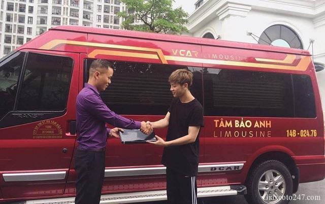 Top nha xe Vip xe Limousine Ha Noi Quang Ninh xe Tam Bao Anh - Top 15 nhà xe Limousine đưa đón tận nơi Hà Nội - Quảng Ninh chất lượng cao