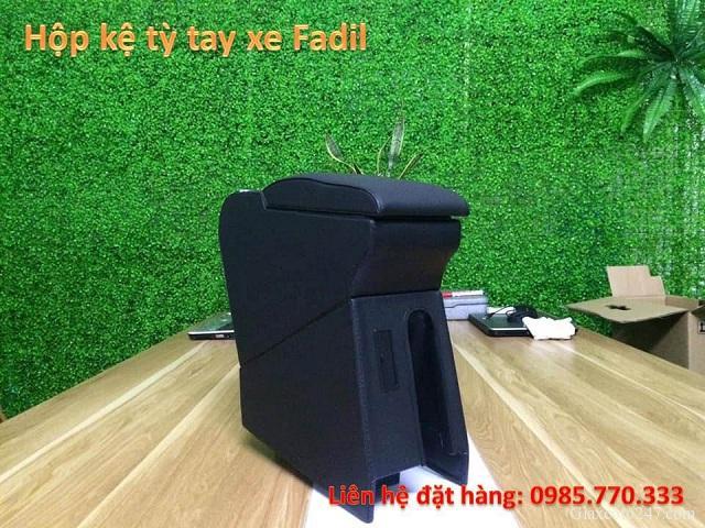 Hop ke ty tay fadil 1 - Hộp kệ tỳ tay xe VinFast Fadil, thiết kế theo xe, không bắt vít, lắp đặt dễ dàng