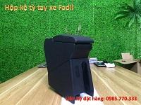 Hop ke ty tay fadil 1a - Hộp kệ tỳ tay xe VinFast Fadil, thiết kế theo xe, không bắt vít, lắp đặt dễ dàng