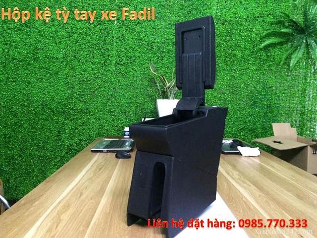 Hop ke ty tay fadil 2 - Hộp kệ tỳ tay xe VinFast Fadil, thiết kế theo xe, không bắt vít, lắp đặt dễ dàng