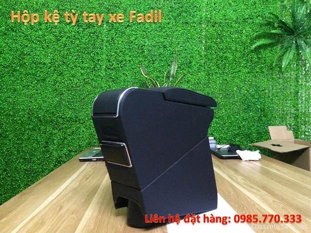 Hop ke ty tay fadil 3 - Hộp kệ tỳ tay xe VinFast Fadil, thiết kế theo xe, không bắt vít, lắp đặt dễ dàng