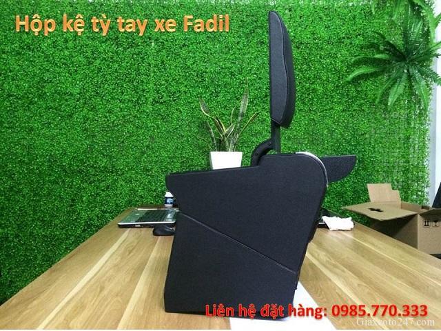 Hop ke ty tay fadil 4 - Hộp kệ tỳ tay xe VinFast Fadil, thiết kế theo xe, không bắt vít, lắp đặt dễ dàng