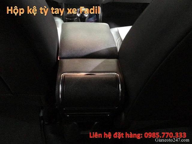 Hop ke ty tay fadil 7 - Hộp kệ tỳ tay xe VinFast Fadil, thiết kế theo xe, không bắt vít, lắp đặt dễ dàng