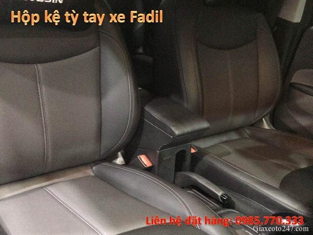 Hop ke ty tay fadil 8 - Hộp kệ tỳ tay xe VinFast Fadil, thiết kế theo xe, không bắt vít, lắp đặt dễ dàng