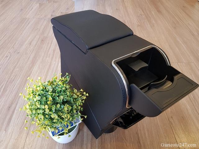 Ke ty tay Fadil 3b - Hộp kệ tỳ tay xe VinFast Fadil, thiết kế theo xe, không bắt vít, lắp đặt dễ dàng