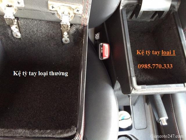 So sanh san pham ke ty tay - Hộp kệ tỳ tay xe VinFast Fadil, thiết kế theo xe, không bắt vít, lắp đặt dễ dàng