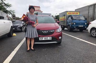 Giao xe VinFast Fadil 9 2019 4 400x266 - VinFast Chevrolet Thăng Long - 68 Trịnh Văn Bô
