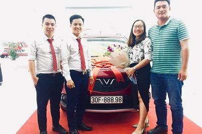 Giao xe VinFast Fadil 9 2019 400x266 - VinFast Chevrolet Thăng Long - 68 Trịnh Văn Bô