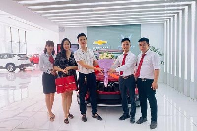 Giao xe Fadil 10 2019 400x266 - VinFast Chevrolet Thăng Long - 68 Trịnh Văn Bô