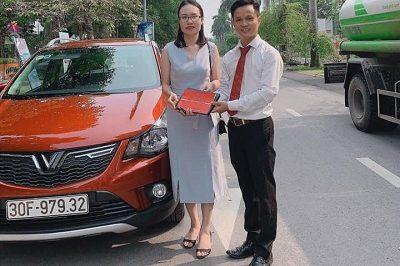 Giao xe VinFast Fadil 11 2019 400x266 - VinFast Chevrolet Thăng Long - 68 Trịnh Văn Bô
