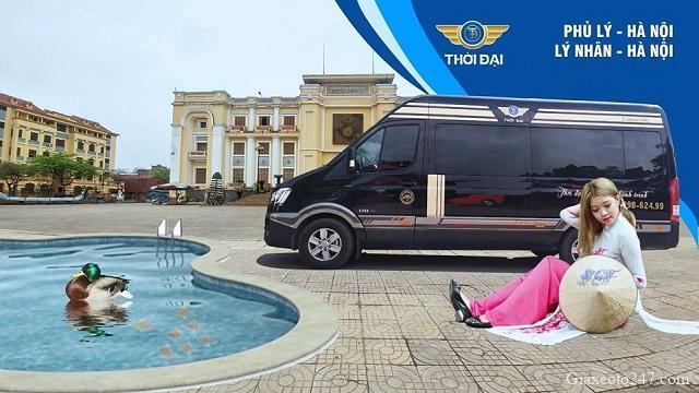 Limousine Thoi Dai tuyen Ha noi ha nam 4b - Xe Limousine đưa đón tận nơi tuyến Hà Nội đi Hà Nam và ngược lại