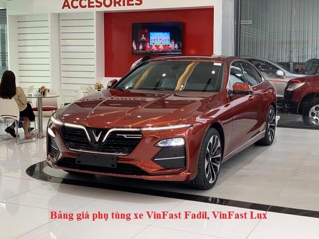 Bang gia phu tung VinFast Fadil Lux 2 - Phong thủy xe hơi - Chọn màu hợp mệnh