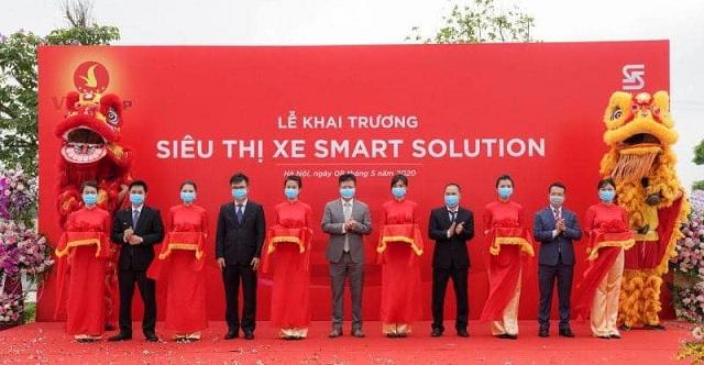 """Le khai truong sieu thi Smart Solution - VinFast ra chương trình chưa từng có tại Việt Nam: """"Đổi xe cũ - Lấy xe mới"""""""