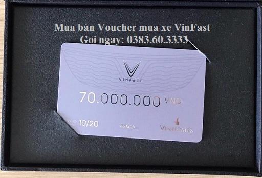 Voucher mua xe vinfast Fadil menh gia 70 trieu - Mua bán, chuyển nhượng Voucher mua xe VinFast tốt nhất thị trường
