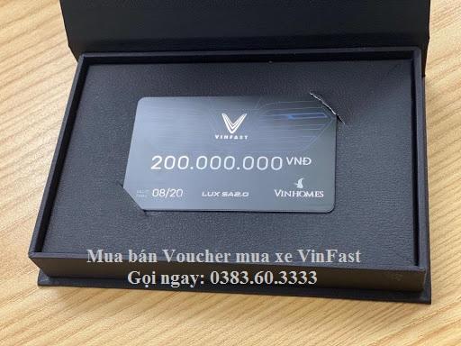 Voucher mua xe vinfast luxsa menh gia 200 trieu - Mua bán, chuyển nhượng Voucher mua xe VinFast tốt nhất thị trường