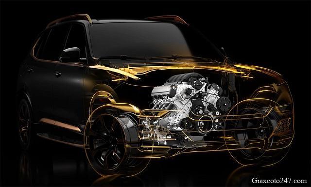 Dong co VinFast President 2020 - Bảng giá, Thông số kỹ thuật xe VinFast President V8 2021