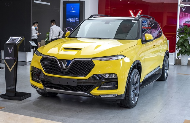 dau xe vinfast president - Lộ trình trưng bày xe VinFast President từ 07/09/2020