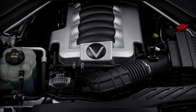Dong co V8 VinFast President - Lộ trình trưng bày xe VinFast President từ 07/09/2020