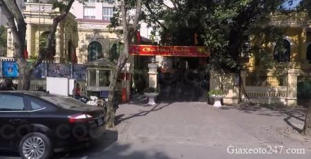 Diem dang ky xe o to so 1 tai 68 Ly Thuong Kiet - Từ 1/3/2021 điểm đăng ký xe tại 86 Lý Thường Kiệt chuyển về 342B phố Thái Hà
