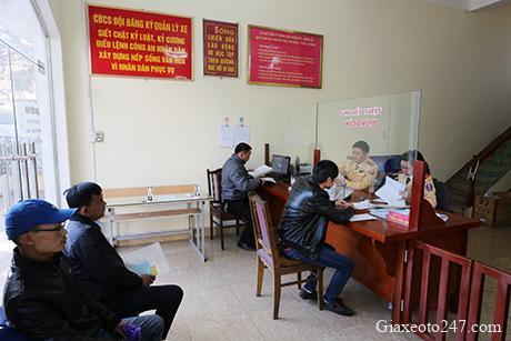 Diem dang ky xe o to xe may tai Quang Ninh - Thời gian làm việc và Địa chỉ điểm đăng ký ô tô tại Quảng Ninh