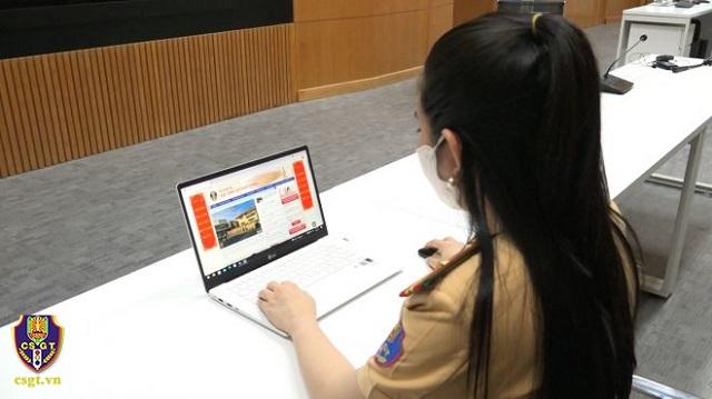 Huong dan khai bao dang ky sang ten xe qua mang 1 1 - Hướng dẫn thủ tục đăng ký sang tên đổi chủ, cấp biển số xe qua mạng