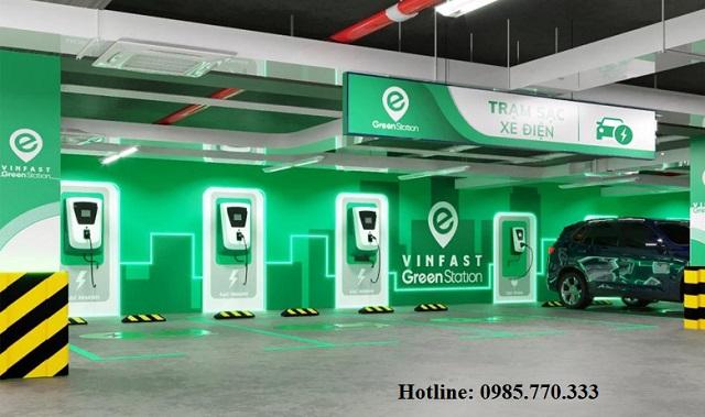 Tram sac o to dien vinfast tai Chung cu van phong - Danh sách địa chỉ trạm sạc pin ô tô điện VinFast tại Hà Nội